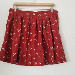 Gap Mini Medium Skirt With Pockets